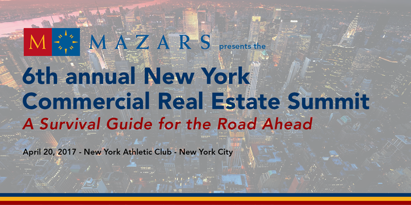Join Ingram Yuzek at the 6th annual New York CRE Summit!